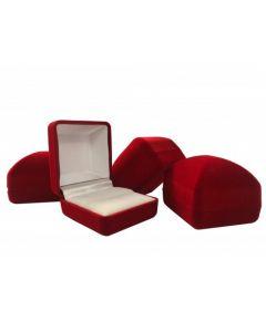 Novelty Red Velvet Ring Box