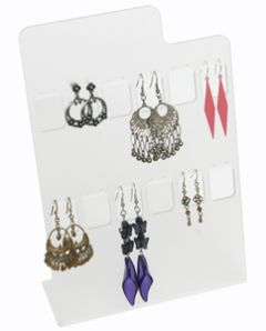 Earring Display - Clear