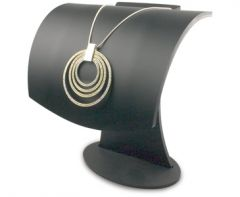 Curved Necklace Display -150mm