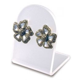Earring Display - 1 pair - Clear