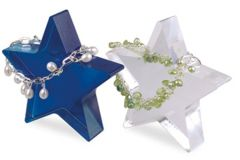 Star Shaped Display Blocks - Clear