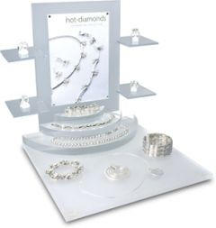 A5 Portrait Prestige Display Stand