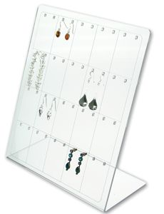 Drop Earring Display - Clear
