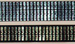 Printed Mottoes 25 x 6mm