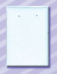 Earring Display Pad - Earring holes punched horizontaly 57 x 38mm